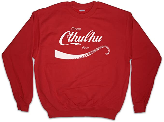 Urban Backwoods Cthulhu Cola Sudadera para Hombre Sweatshirt Pullover - Lovecraft Miskatonic H.P. Fun University Horror Wars Tamaños S - 3XL: Amazon.es: ...