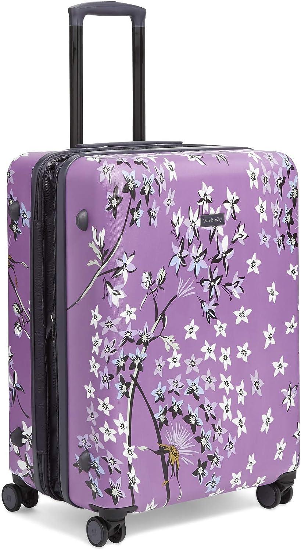 Vera Bradley Women s 26 Hardside Rolling Suitcase Luggage