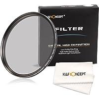 K&F Concept 62mm Delgado CPL Filtro Polarizador Circular