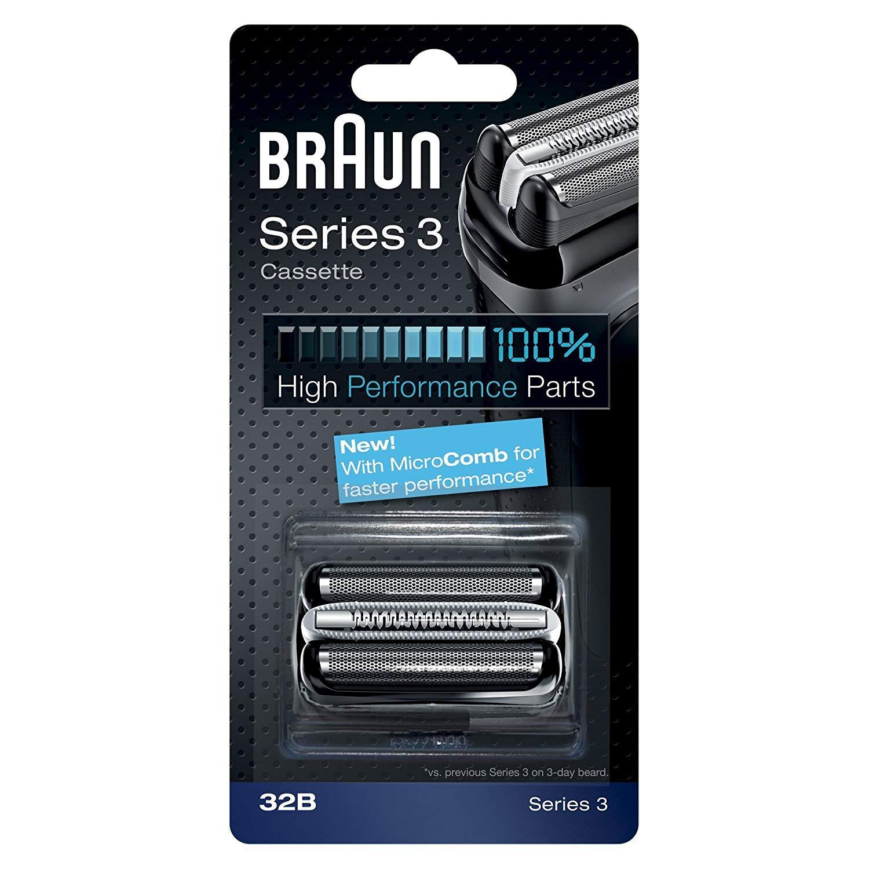 Braun Series 3 32B Foil   Cutter Replacement Head 2085550d7e8