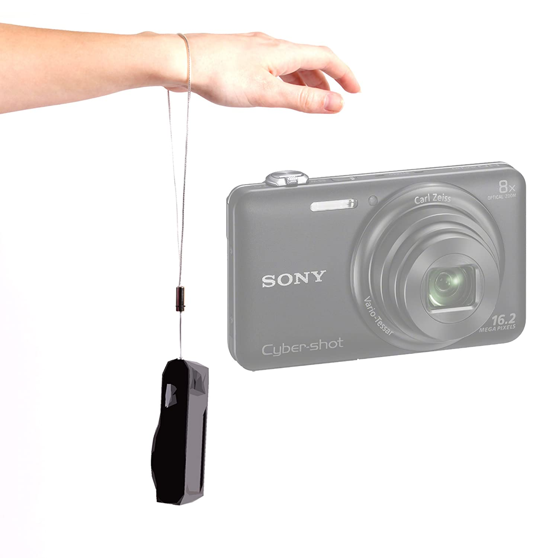 DURAGADGET Hardwearing手首ストラップ付きfor Sony Cybershot wx200、Cybershot - w730 & Sony h200デジタルカメラ B00J5J6QBE