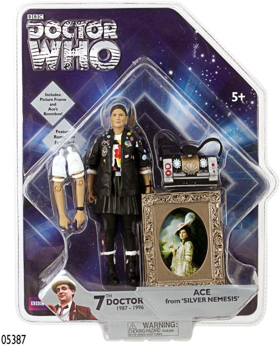 Doctor Who Action Figures Ace 7th Doctor Companion From Silver Nemesis