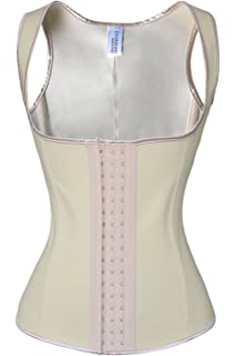 08e0196dc4 Charmian Women s Latex Underbust Waist Training Steel Boned Shapewear Corset