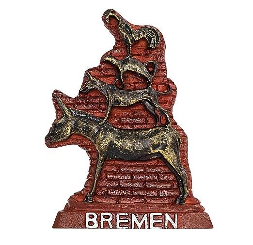 zamonji Los Músicos de Bremen, Alemania Imanes de Nevera ...