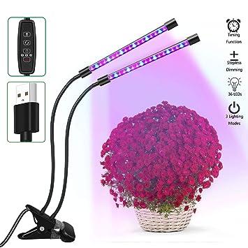 Flexible Les Plante18w Croissance Leds Zemoj Plantes Col 36 Tête D'intérieur Jardinage Pour Double De Avec Cygne Lampe À odxQeWrCB