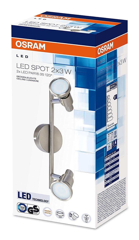 G9 Fassung 0 mm x 80 80 0 mm Osram LED Spot Spotlight Leuchte Warmwei/ß 0 mm x 142 f/ür innenanwendungen