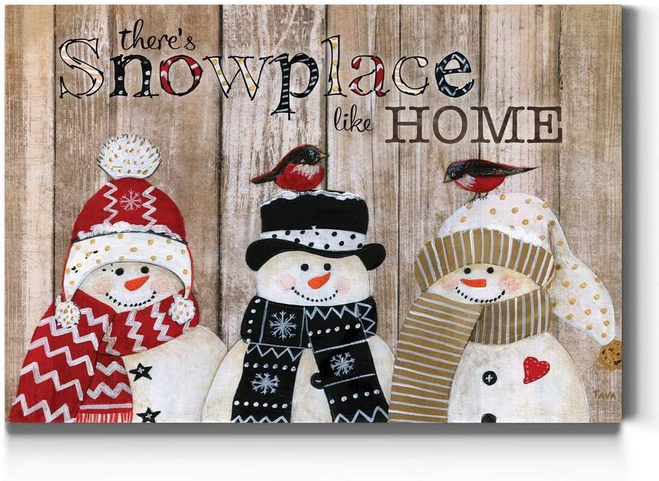 Renditions Gallery Christmas, Canvas Wall Art, Holiday Décor, Christmas Carol, White Christmas, Chestnuts, Nutcracker, Rudolph, Nativity - Snowplace Home 24X36