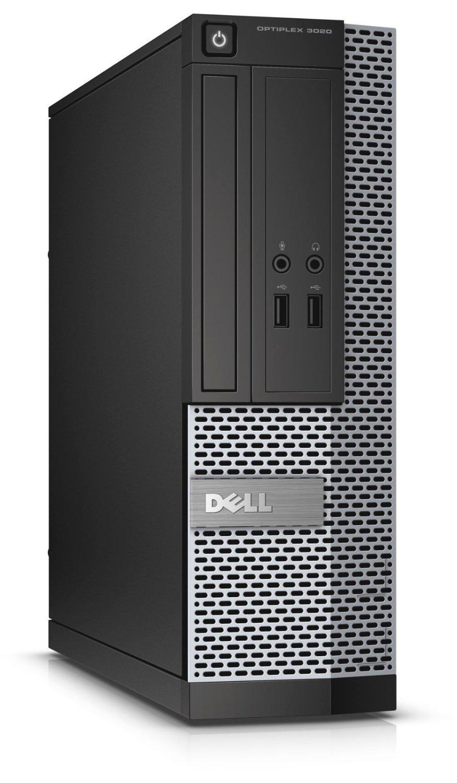 Dell Optiplex 3020 SFF Slim Desktop Computer, Intel Core i3 4130 3.40 GHz, 4GB RAM, 500GB HDD, DVDRW, USB 3.0, Windows 10 Pro 64 Bit (Certified Refurbished)