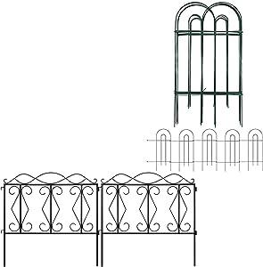 Amagabeli Decorative Garden Fence 32inx20ft Bundle 24
