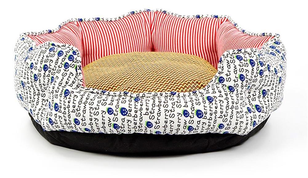 A DAN Dog Mattress Cat Nest Pet Bed,Non-Woven, Four Seasons