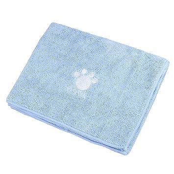 UEETEK Toalla de baño para mascotas Toalla de secado lavable súper absorbente para perros y gatos: Amazon.es: Productos para mascotas