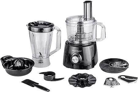 Aigostar Justall 30CFF - Procesador de alimentos con todos sus accesorios. 800 watios. Materiales de alta resistencia. Garantía y calidad exclusiva.: Amazon.es: Hogar