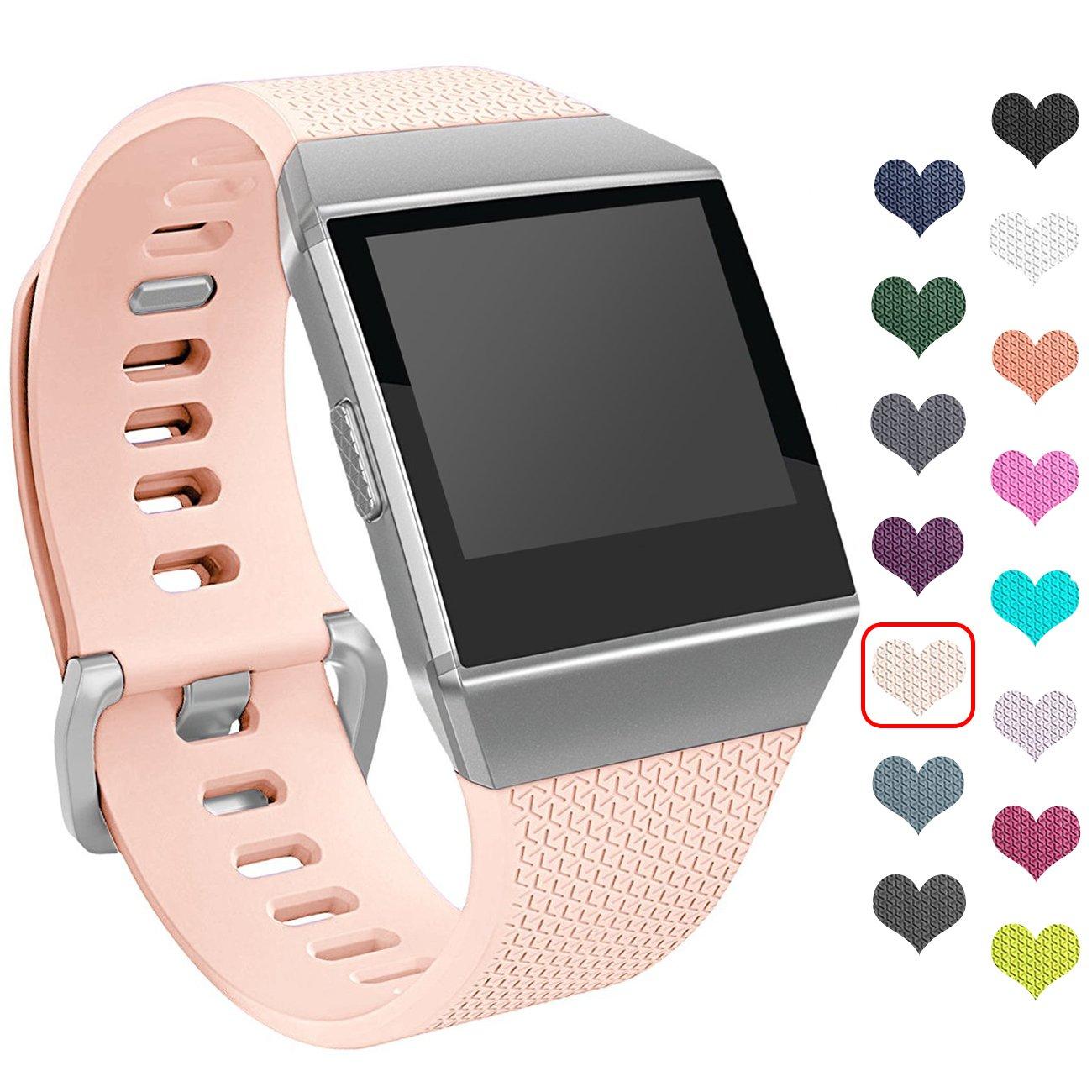 i-smile Fitbit Ionic Smartwatch Bandas, Classic Edition Pulsera de ...