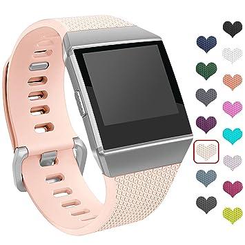 Fitbit Ionic Smartwatch Fitness correa, mtsugar nueva versión ...