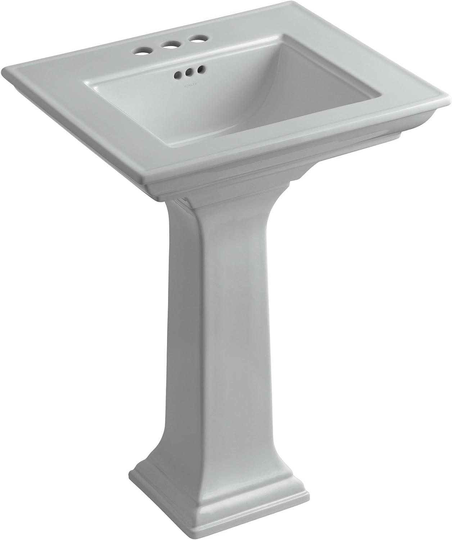 Kohler K 2344 4 0 Memoirs Pedestal Bathroom Sink With Stately