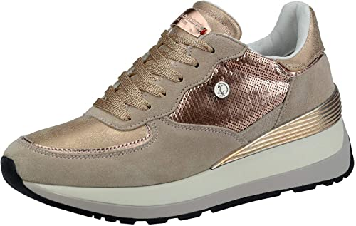Us 1 Sneakers Polo Assn Donna Yla4011w8st1 Scarpe Valery Pailettes EHI2D9