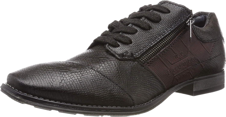 TALLA 46 EU. bugatti 3.22653e+11, Zapatos de Cordones Derby para Hombre
