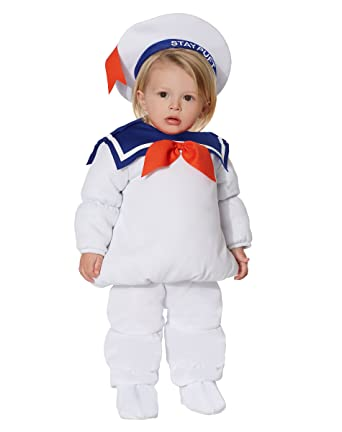 Spirit Halloween Baby Belly Stay Puft Marshmallow Man Costume u2013 Ghostbusters  sc 1 st  Amazon.com & Amazon.com: Spirit Halloween Baby Belly Stay Puft Marshmallow Man ...