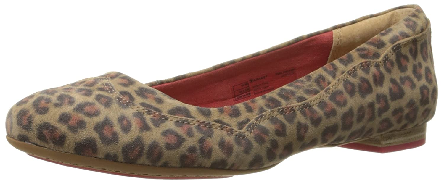 Ariat Women's Dreamer Ballet Flat B013WSHD8I 6.5 B(M) US|Cheetah