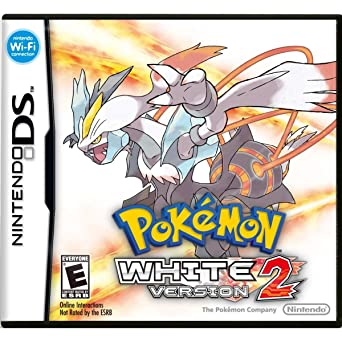 Nintendo Pokemon White Version 2 Juego Nintendo Ds Rpg Juego De