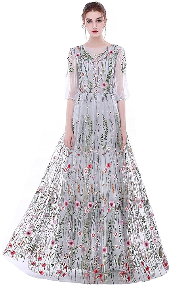 f3db14767a569 Chinabrands.com: Dropshipping & Wholesale cheap Honeydress Womens Floral-Embroidered  Long Sleeve Maxi Dress online.