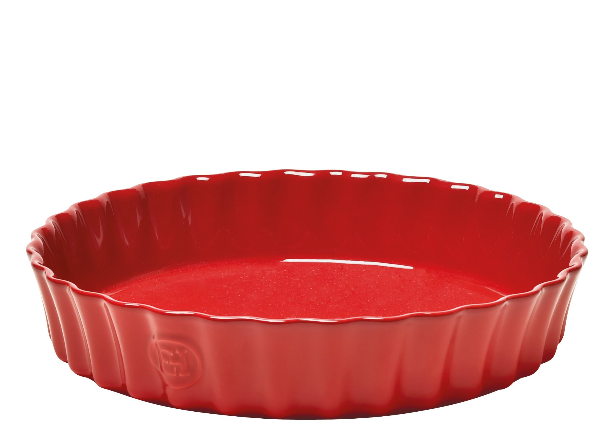 Quiche Dish - 11'' - Deep - Red