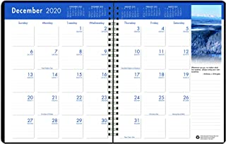 product image for House of Doolittle 2021 Monthly Calendar Planner, Earthscapes, 8.5 x 11 Inches, December - January (HOD26402-21)