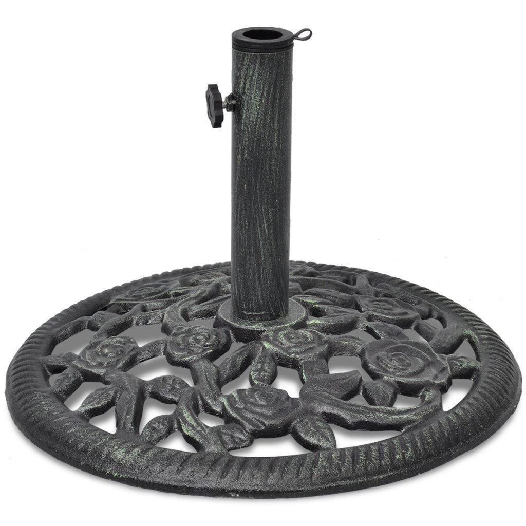 Festnight Base per Ombrelloni/Base ombrellone in ghisa 12 kg 48 cm