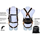 Kiting Harness for Ground Handling - Perfect for Paragliding, PPG, Powered Paragliding, Paramotoring, Paraglider, Paramotor, Kiteboarding, Kiting, and Training Harness - Lumbar Support