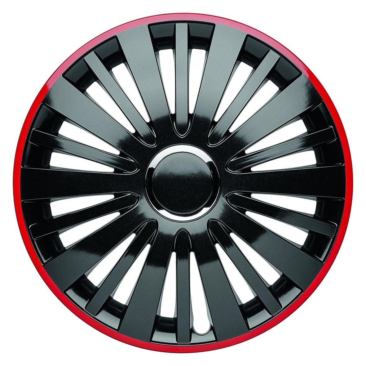 """'Albrecht Automotive 49614Falcon Red Dusk Plus 14"""", 1jeu d'enjoliveurs"""