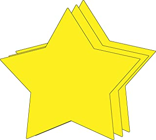 """product image for 8"""" x 10"""" Star Single Color Super Cut-Outs, 15 Cut-Outs in a Pack for Star Inspired Classroom/School Craft Projects."""