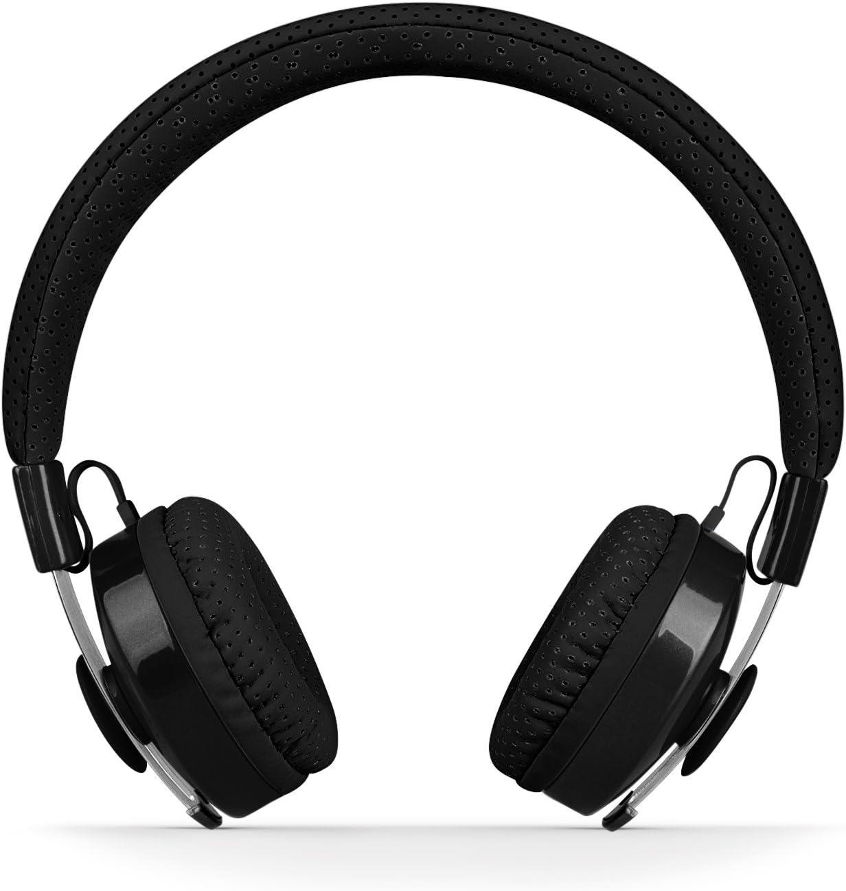 LilGadgets Untangled Pro Premium Children's Wireless Bluetooth Headphones with SharePort - Black