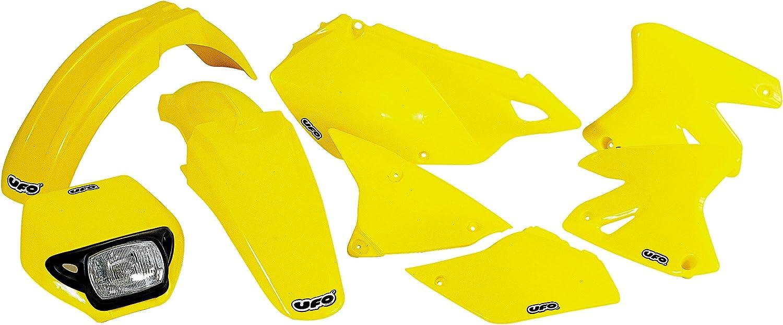 FOR SUZUKI F FDR RM125-250 82-00 YELLOW UFO SU02904101 Replacement Plastic