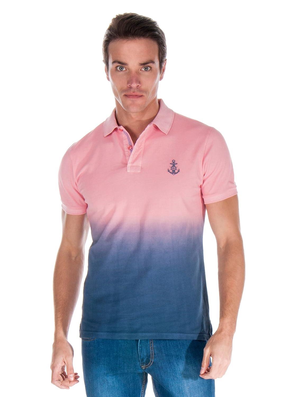 Giorgio Di Mare Polo Rosa/Azul XL: Amazon.es: Ropa y accesorios