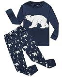 Amazon Price History for:Boys Girls Christmas Pajamas Toddler Cotton Moose kids Pjs Christmas Set