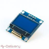 AZDelivery ⭐⭐⭐⭐⭐ 128 x 64 Pixel 0,96 Zoll OLED I2C Display für Arduino und Raspberry Pi mit gratis eBook!