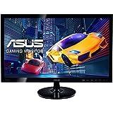 "ASUS VS248HR - Monitor de 24"" (LED, 16:9, 1920 x 1080 píxeles, HDMI, VGA), Negro"