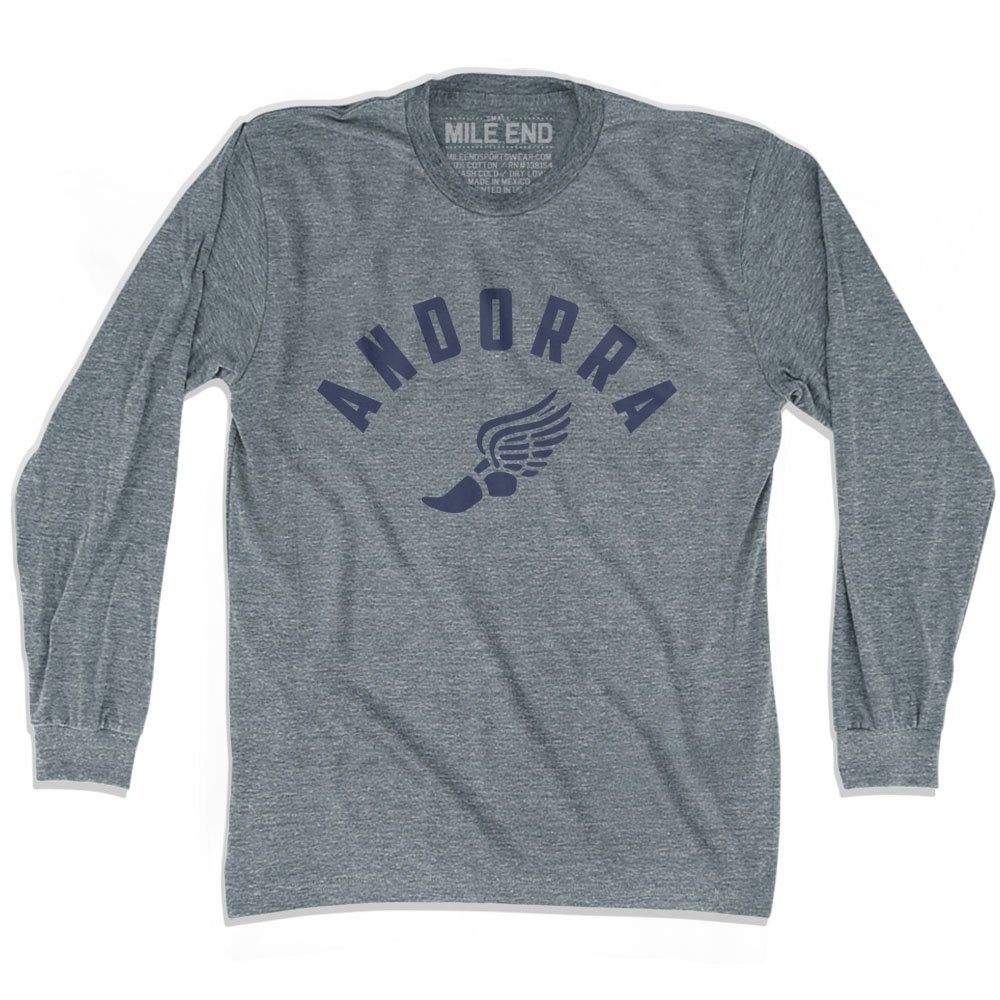 Andorra Track Long Sleeve T-shirt
