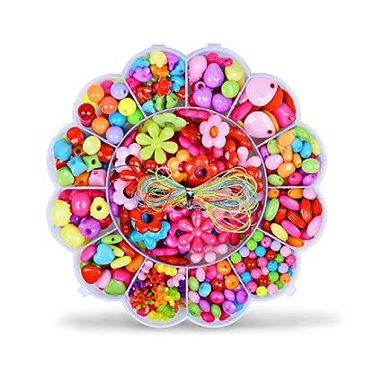 24b865dfb858 Abalorios Cuentas de Colores y Plastico