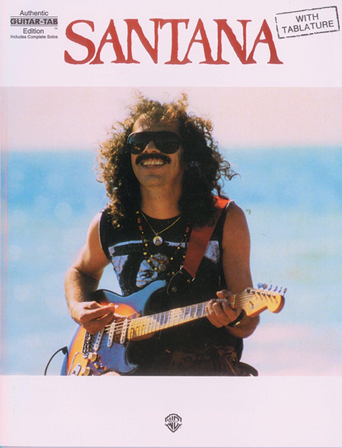 Santana: Santana Guitare (Authentic Guitar-Tab): Amazon.es ...