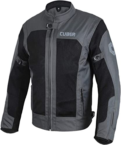 Cuber Motorcycle Mesh Jacket Riding Air Biker Jacket