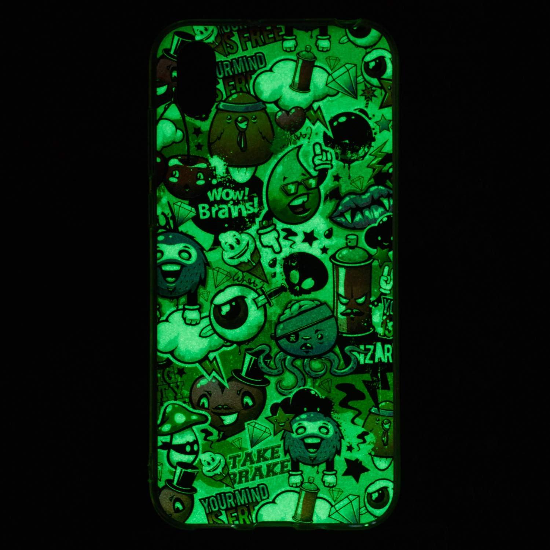 Mandala color/é RUIST Huawei Y5 2019 Bumper,Lumineux Effet Souple TPU Gel Protection Etui Coque Anti D/érapant Cas Rubber Housse pour Huawei Y5 2019
