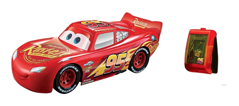 Disney Pixar Cars voiture Flash McQueen et son Bracelet de Pilotage jouet pour enfant FGN51