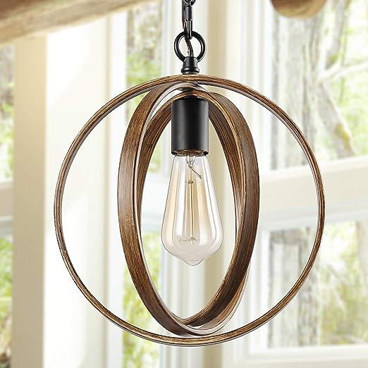 Amazon.com: ISURAUL - Lámpara de techo con forma de globo de ...