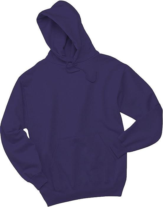 Sudadera con capucha, de la marca NuBlend Jerzees, 996 M (grande/color negro)
