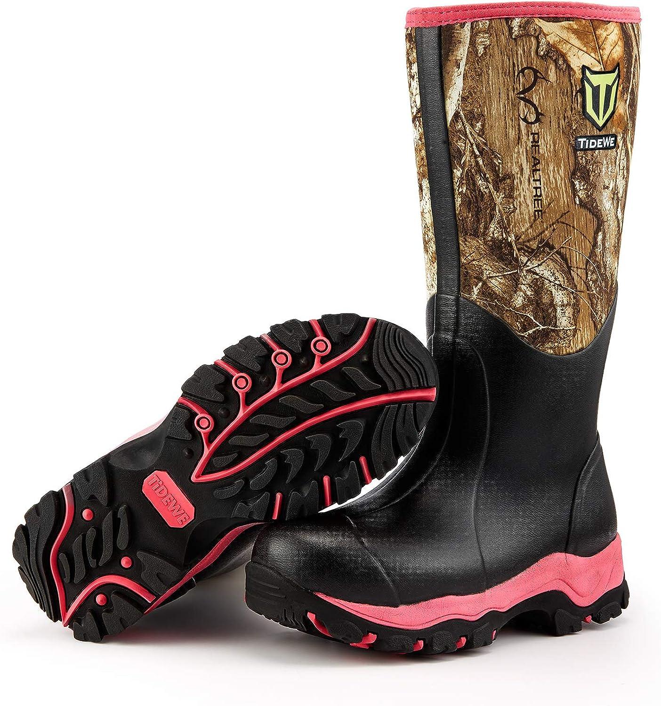 Amazon.com : TIDEWE Hunting Boot for Women, Insulated Waterproof Durable  15