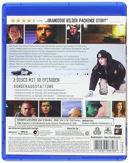 Fargo Die Komplette Season 1 Blu Ray Amazonde Billy