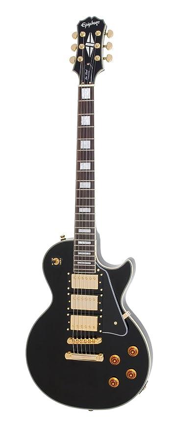 Amazon Com Epiphone Les Paul Black Beauty 3 Pickup Electric Guitar
