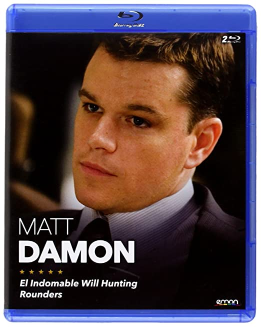 Pack: El Indomable Will Hunting + Rounders [Blu-ray]: Amazon.es: Matt Damon, Gus Van Sant, John Dahl, Matt Damon: Cine y Series TV