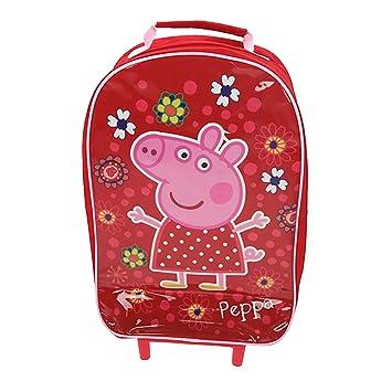 701be1675c Peppa Pig fille sac cabine Sac de voyage Bagage à main Valise à roulettes  vacances New
